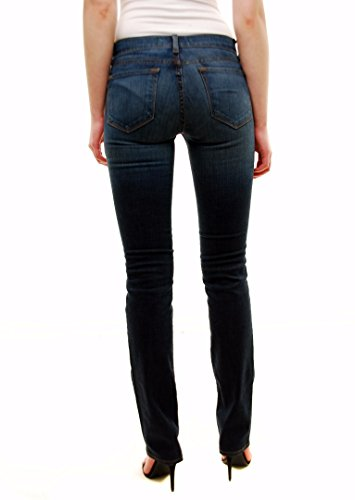 J Brand Mujer Cigarette Pierna Heritage Jeans Estilo 814C032 Azul