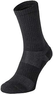 281Z Military Cotton Micro Crew Boot Socks - Cushioned Sole - Moisture Wicking - Odor Resistant - Hiking Trekk