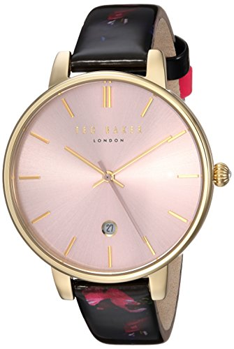 Ted Baker Women's 'KATE' Quartz Stainless Steel and Leather Casual WatchMulti Color (Model: TEC0025006) by Ted Baker