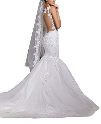 Mermaid Wedding Dress - 6