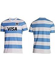 Argentinië Home/Away Rugby Jersey, 2020/2021 Heren Geborduurde Korte Mouw Sportkleding