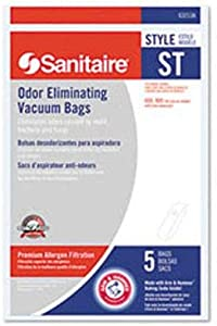 Sanitaire 63213B ST Premium Synthetic Bags for Vacuums - 50 / PK