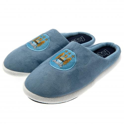 Official Manchester City FC Mens Slippers 11/12 (UK)