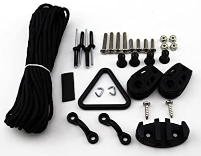 AK1 Yak Gear Deluxe Anchor Trolley Kit