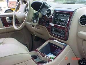 Ford Expedition Eddie Bauer Interior Burl Wood Dash Trim Kit Set 2003 2004 2005 2006