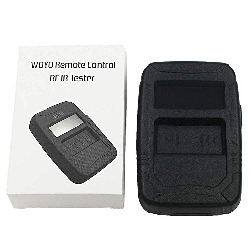 HERCHR Automotive Infrared Frequency Tester, WOYO Portable Remote Control Test Tool, Black by HERCHR (Image #6)