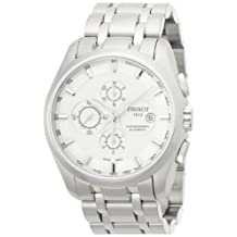 Tissot Men's Couturier T035.627.11.031.00 Silver Stainless-Steel Swiss Automatic Watch