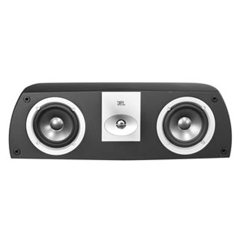[Leviton AECCS-VCE Architectural Edition Powered By JBL Dual 5-Inch Woofer Two-Way Shelf-Mount Center Channel Loud Speaker, Black] (Leviton Video Amplifier)