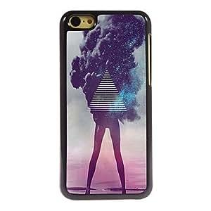 YULIN The Girl Design Aluminum Hard Case for iPhone 5C
