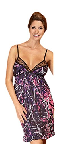 Muddy Girl Camo Chemise Lingerie Intimate Wear (XXL)