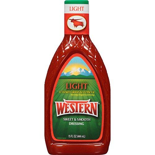 Western Salad Dressing, Light, 15 Ounce