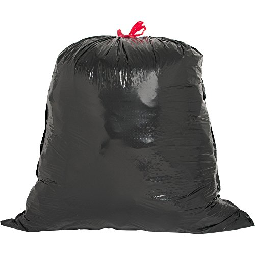 ng Trash Can Liner - 30 gal - 30quot; x 32quot; - 1.05 mil (27 Micron) Thickness - Low Density - Resin - 42/Box - Black ()