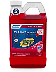 Camco TST Fresh Scent RV Toilet Treatment, Formaldehyde Free, Breaks Down Waste and Tissue, Septic Tank Safe, Treats up to 8 4 Gallon Holding Tanks (8-Pack of 4 Ounce Singles)