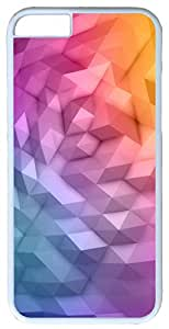"""Abstract Polygon Gradient polygons Case for iPhone 6(4.7"""") PC Material White by mcsharks"""