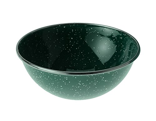 - GSI Outdoors 25214 Enamelware Mixing Or Cereal Bowl, 5.75 Inch, Green