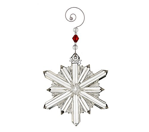 Waterford Annual Snowstar Ornament Waterford Christmas Tree