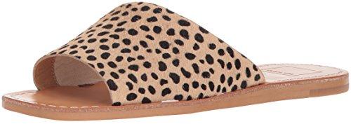 Dolce Vita Women's Cato Slide Sandal, Leopard Calf Hair, 7.5 M US by Dolce Vita
