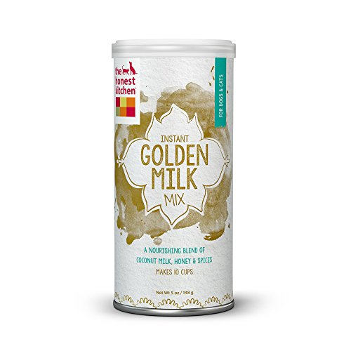 Honest Kitchen Golden Milk: Organic Coconut Milk with Honey & Spices for Dogs & Cats  5 oz