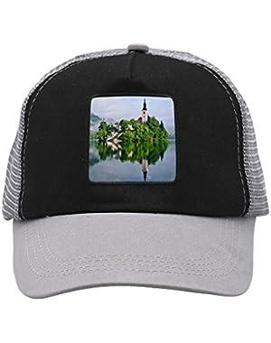 Unisex Lake Bled Adjustable Classic Hiphop Hat Baseball Cap Snapback Dad Hat
