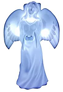 Solar Lighted Angel by Eternal Light, Memorial Decoration Statue for Your Loved One Powered By God's Sunlight