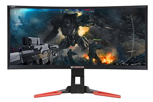 "Acer - Predator Z35 35"" VA Ultrawide Curved Gaming LED LCD M"