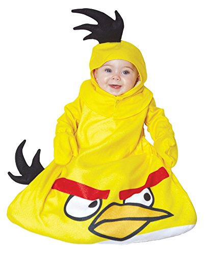 UHC Baby's Rovio Angry Bird Yellow Outfit Infant Fancy Dress Halloween Costume, OS (0-9M)