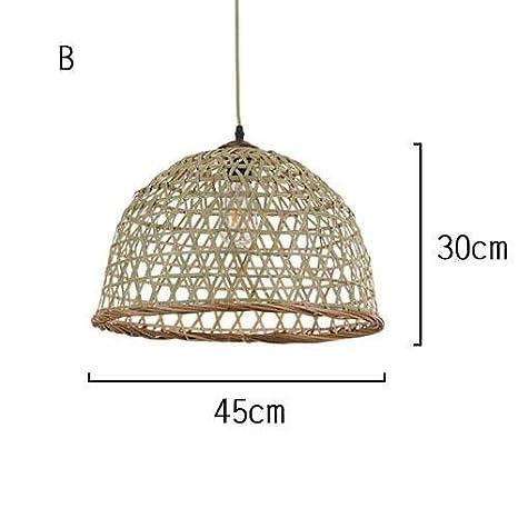 TL-LAMPS Made; Lámparas de bambú de mimbre de mimbre hechas ...