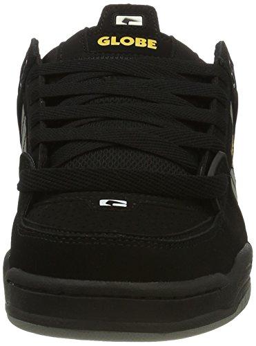 Fusion yellow Homme black Globe grey Skateboard Noir Chaussures De Z8qAzRF