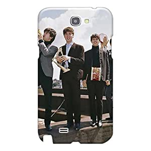 SherriFakhry Samsung Galaxy Note 2 Bumper Cell-phone Hard Cover Custom Colorful The Beatles Band Skin [liq38444gwKH]