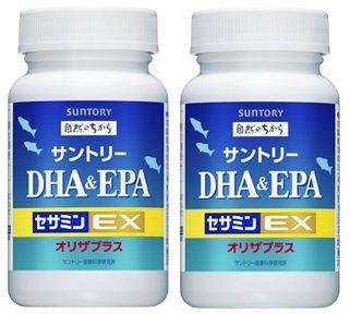サントリー DHA&EPA+セサミンEX 120粒 2本セット B019OOVTFW