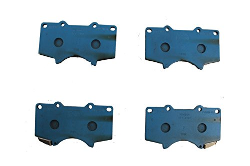 Toyota Genuine Parts 04465-60320 Front Brake Pad (Toyota 4runner Brake)