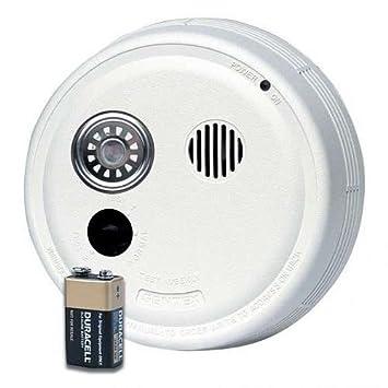Amazon.com: GENTEX 9120 F duro alámbrico Alarma de humo con ...