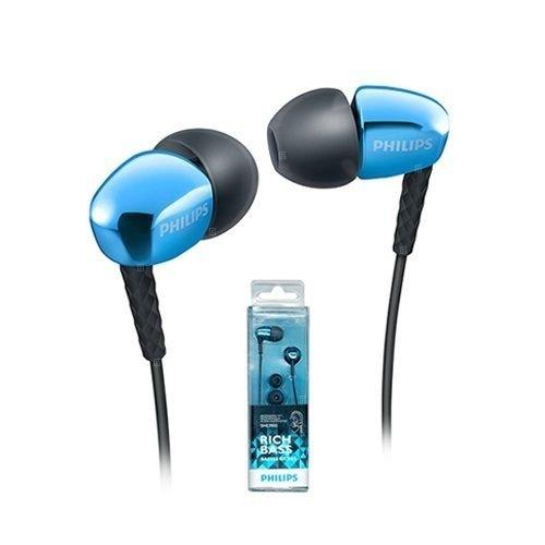 Philips She3900bl In-ear Headphones Earphones She3900 Blue -