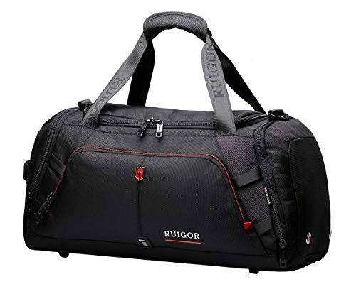 Ruigor Motion RGL6407 Duffel Bag Black Water Repellent Materials