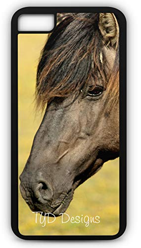 (iPhone 6 Plus 6+ Case Horse Equidae Pony Colt Stud Customizable by TYD Designs in Black Plastic)