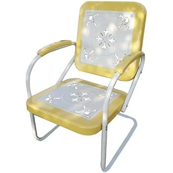 Amazon Com 4d Concepts 71540 Metal Retro Chair Patio
