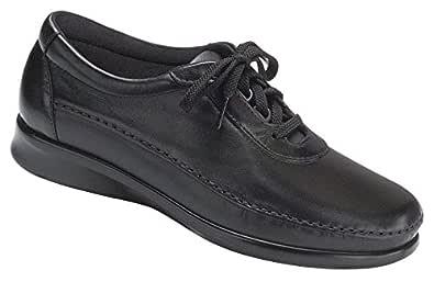 SAS Womens Traveller Walking Shoes Black Size: 6