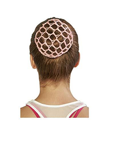 Bloch Unisex-Adult's Hair Bun Cover, light pink, one