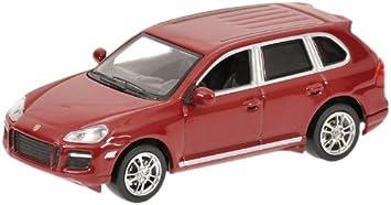 rojo metalizado Minichamps 640066280 escala 1//64 Coche de colecci/ón Porsche Cayenne GTS06