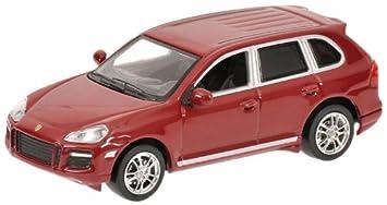 Minichamps 640066280 - Coche de colección Porsche Cayenne GTS06, rojo metalizado - escala