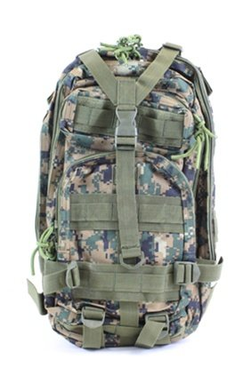 Diamond Tactical Backpack – Digital Woodland Camo, Outdoor Stuffs