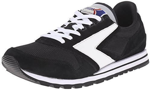 Brooks Heritage Men's Chariot Jet Black/White Sneaker 9 D (M)