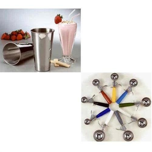 TableCraft Products 2108 4 oz S/Thumb Press Disher, Size 8