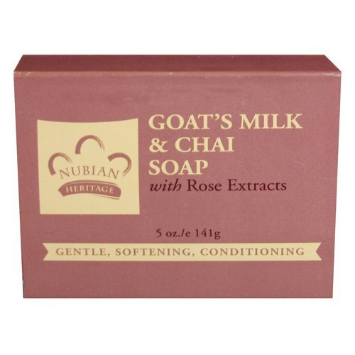 Wholesale Goats Milk Soap - Nubian Heritage Soap Bar, Goats Milk and Chai, 5 Ounce (5 Pack)