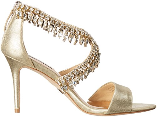 Badgley Mischka Womens Grammy II Dress Sandal Platino Z3ZTK