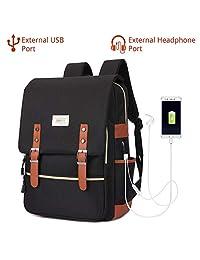 "EUATEO Laptop Backpack Business Laptop, Laptop Travel Bag Ligera y Durable Laptop Backpack Hombres y Mujeres Casual Backpack, Universidad y Niños, Multicolor 15.6"""