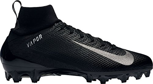 NIKE Men's Vapor Untouchable 3 Pro Football Cleats (11, Black/White)