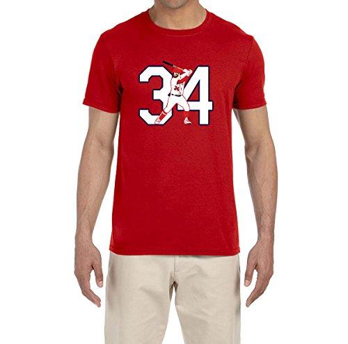 Tobin Clothing RED Washington Harper 34 T-Shirt Youth Small