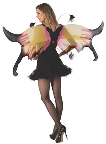 (Rubie's Unisex-Adult's Standard Phoenix Wings, Multicolor, One Size)
