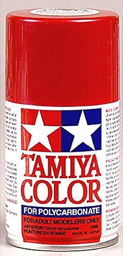 Tamiya Polycarbonate PS-15 Metal Red Spray Paint